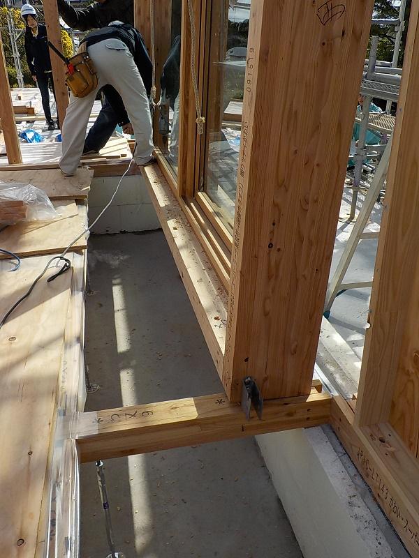 木製サッシパネル設置④.JPG